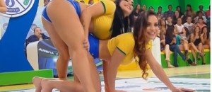Brazilian Girls play Twister