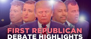 A Bad Lip Reading of First The Republican Debate
