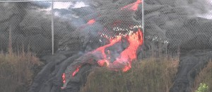 Lava Flows In Pahoa - Eruption Update