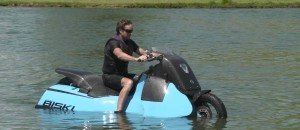 Amphibious Motorcycle - The REAL Batcycle!!
