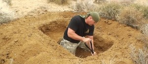 How To Make A Marine Corps Fighting Hole (Shelter)