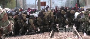Video: Refugees Stone Police In Macedonia, 18 Injured