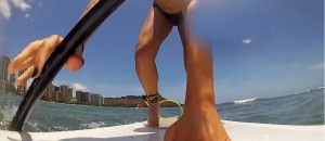 #GoPro Bikini Paddle Board WIPEOUT