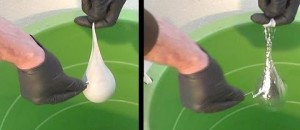 [WATCH] THEY FILL A BALLOON WITH MERCURY AND POP IT, WHAT IT DOES NEXT IS MESMERIZING!