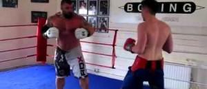 320lb UK's Strongest Man Takes On a 140lb Pro Boxer