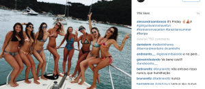 Surfer's Dream - Alessandra Ambrosio And Her Girls Just Wanna Have Fun (Photos)
