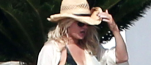 Jessica Simpson's Bikini Body Is Out of Control in This Skimpy Two-Piece [Photos]
