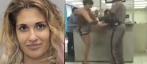 New Video Emerges Of Woman Using 'Sexy Jiu Jitsu' On Massive State Trooper At DMV