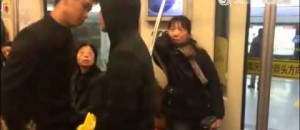 Kung Fu In Real Fight On A Subway Train. Don't Blink!