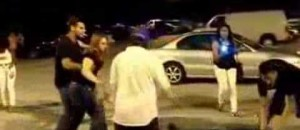 Guy Knocks Out 3 Dudes While Smoking A Cigarette [WATCH]