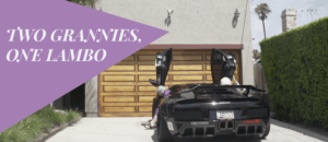 [WATCH] Two Grannies Take A Lamborghini Murciélago To The Grocery Store. What Could Go Wrong?