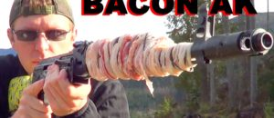 Can You Cook BACON On The Barrel Of An AK47?