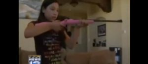 [VIDEO] 11 Year Old Girl Defends Home From 3 Armed Burglars