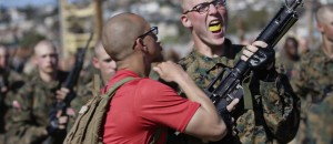 United States Marine Corps Recruits Let You Hear Their War Cry!